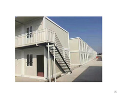Foldable Folding Portable Luxury Prefab 40ft 2 Story Container House
