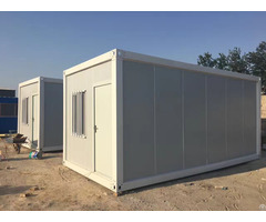 Detachable 20ft Luxury Underground Container House Prefab Houses