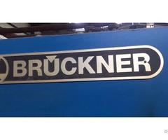 Bruckner Stenter For Sale