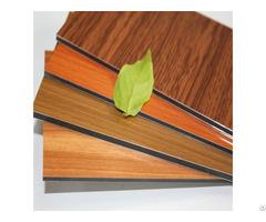 Wooden Color Aluminum Composite Panel