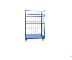 Folding Wire Mesh Roll Container
