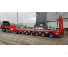 Lowbed 8 Axles