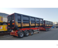 Tipper Semi Trailer Box Type