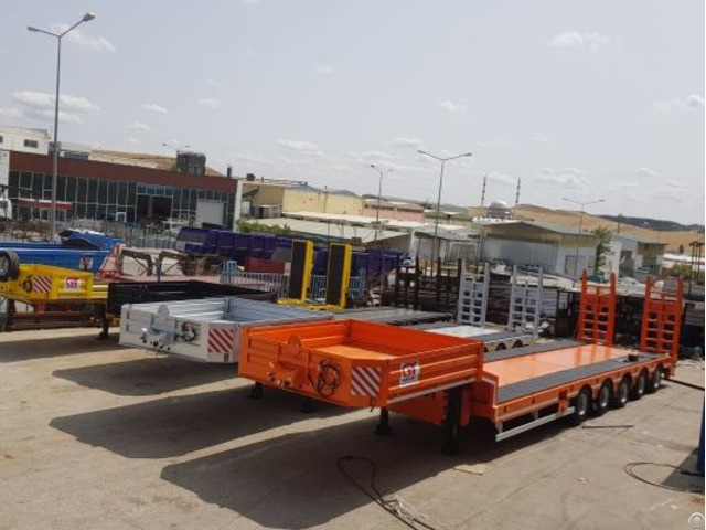 Trailers 5 Axles Lowbed
