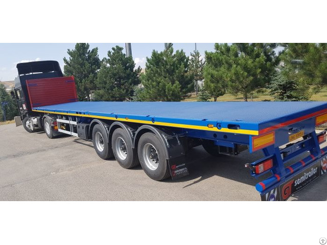 Extendable Semi Trailer Platform