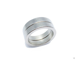 N35 Nickel Coated Neodymium Round Ring Shape Rare Earth Magnet
