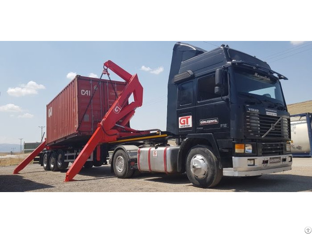 Container Side Loader Semi Trailer