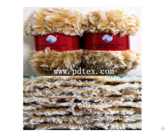 Popular Faux Fur Yarn For Knitting By Pd Textile