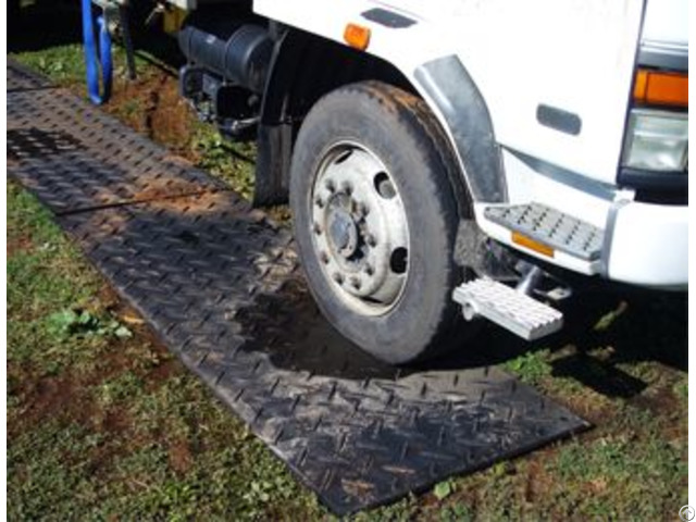 Ground Mate 13mm Hdpe Portable Road Mat Construction Access Walkways