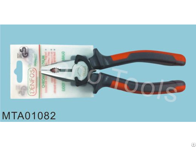 High Quality Combination Long Nose Pliers Diagonal Forge