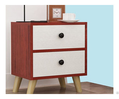 Modern Design Wood Bedside Table Night Tables