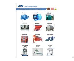 Various Fertilizer Equipment Components