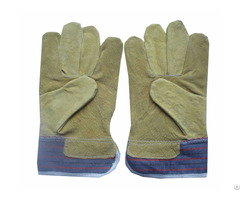 Cow Split Leather Worker Gloves