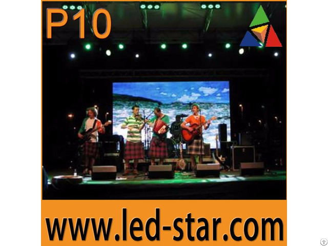 Hot Indoor P10 Flexible Led Display Screen From Shenzhen China