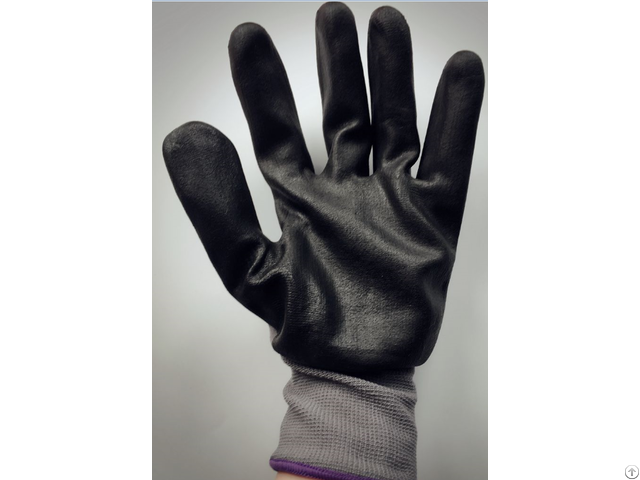 Nitrile Foam Safety Gloves