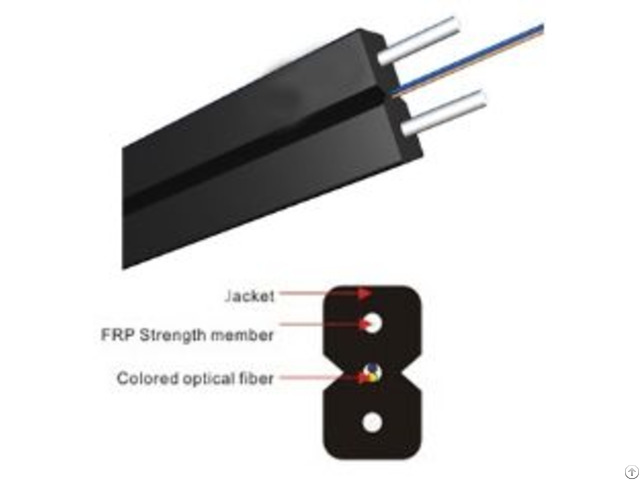 Indoor Optical Ftth Fiber Cable Telecommunication