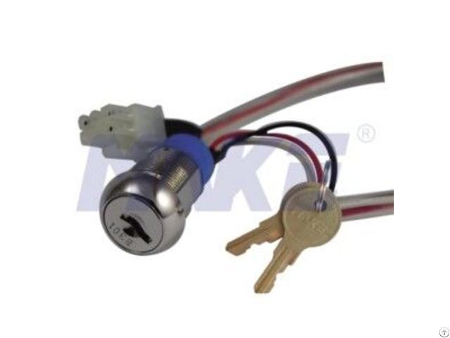 Zinc Alloy Key Switch Lock