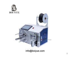 Automatic Wire Cable Winding And Binding Coiling Cum Tying Machine