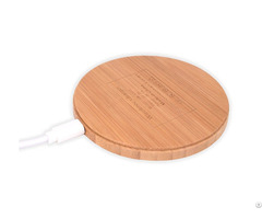 Qi Standard Warranty 12 Months High Efficient All Wood Fast Phone Wireless Charger