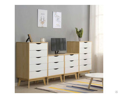 Hot Saling High Quality Wooden White Chest Of Drawers