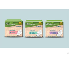 Eco Friendly Sanitary Pads Napkin Panty Liners Pla Natural