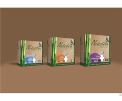 Eco Friendly Sanitary Pads Napkin Panty Liners Bamboo Core