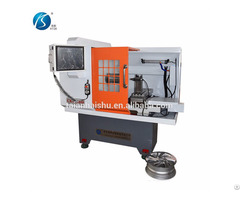 Cnc Machine From China Ck6160q Wheel Rim Lathe