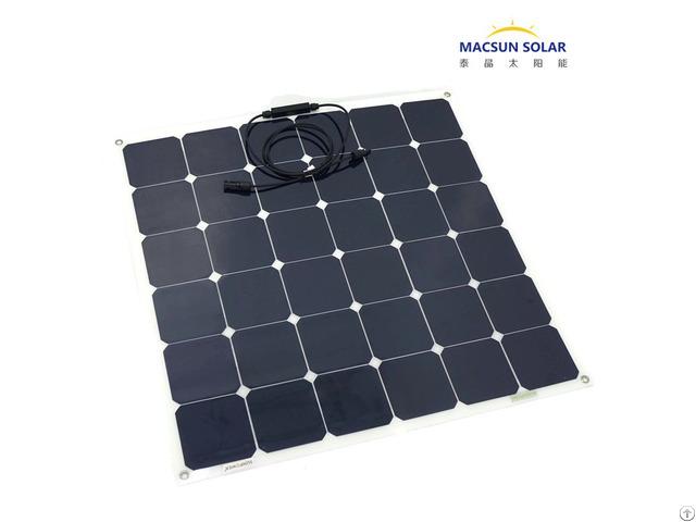 Hot Sale Semi Flexible Solar Panel 120w With Full Certificates