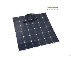 Hot Sale Semi Flexible Solar Panel 120w With Full Certificates
