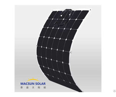 High Efficiency Semi Flexible Sunpower Solar Modules