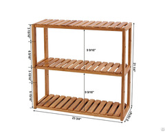 Multinational Shelf Rack Wood Adjustable Shelve