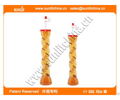 Hot Sale Factory Direct Price Plastic Yard Cups With Straw And Lid