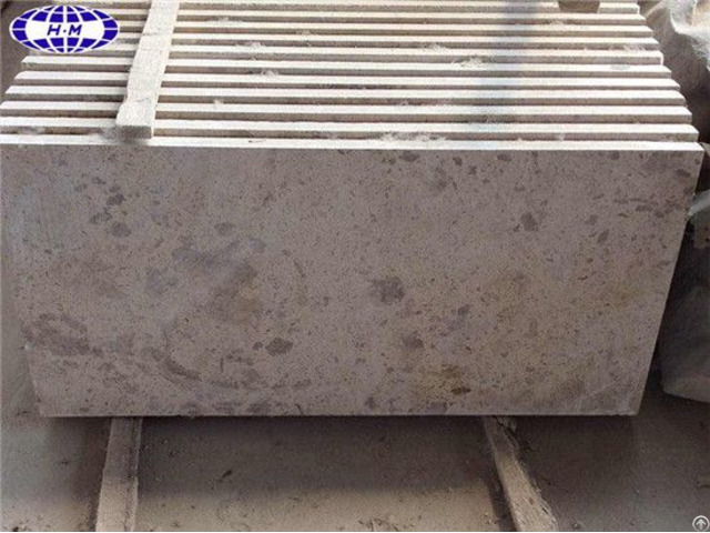China Tumbled Beige Travertine Floor Tile