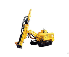 Jk610 Crawler Mounted Blasting Borehole Drilling Rig