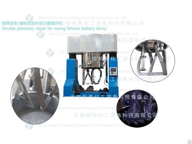 Yinyan 1000l Battery Slurry Planetary Mixer Machine
