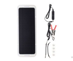 Hovall 5 Watt Monocrystalline Solar Car Battery Charger