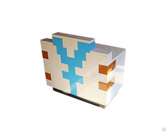 New Arrival Construction Bricks Exhibition Product Show Stand Shop Reception Counter Or Cashier