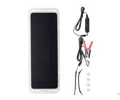 Hovall 5 Watt Monocrystalline Solar Car Battery Charger