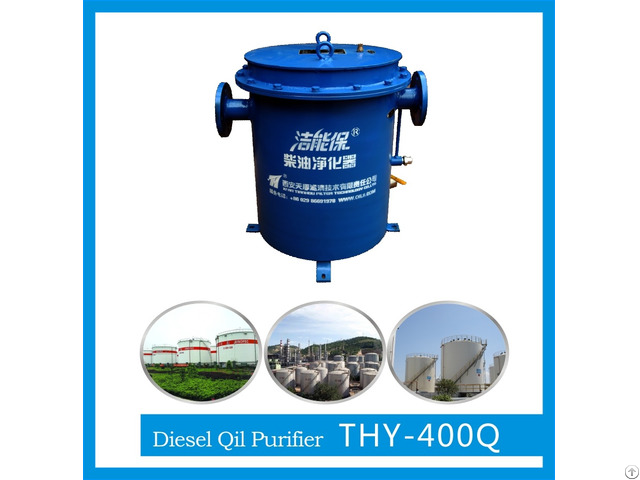 Diesel Fuel Oil Purifying Equipment