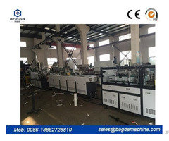 Pvc Electric Conduit Pipe Making Machine Double Extrusion Line