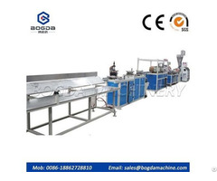 Pvc Plastic Protection Corner Bead Production Line For Drywal