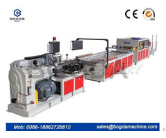 High Quality Wpc Pvc Plastic Ceiling Wall Panel Extrude Machine Price