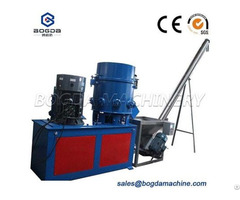 Recycling Used Plastic Pp Pe Film Agglomerator Densifier