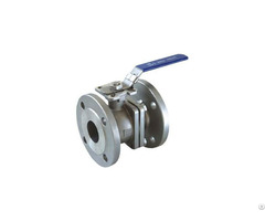 Din Flange Stainless Steel Ball Valve