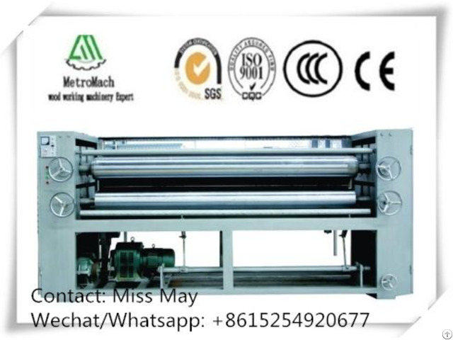Wood Veneer Glue Spreader Machine