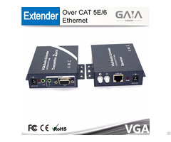 Gaia Hot Product 300m Vga Extender With Audio Over Cat5e 6 Ethernet