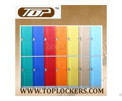 Double Tier Abs Plastic Locker