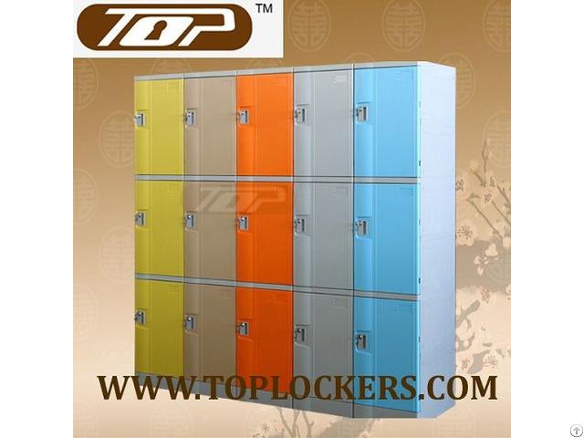 Triple Tier Abs Plastic Locker