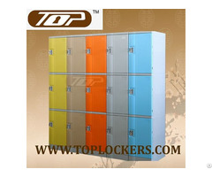 Triple Tier Abs Plastic Locker