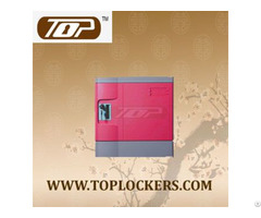 Six Tier School Abs Plastic Lockers